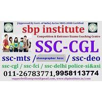 SSC Coaching: Best SSC CGL,Coaching in India, SBP INSTITUTE