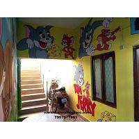 play school wall Art desighn in Hyderabad