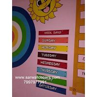 play school wall Art Design painting in Hyderabad