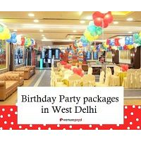 Birthday Party Packages in West Delhi