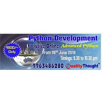 Python Online Training - Quality Thought