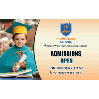 Nursery Admissions Open In Noida At Prometheus School