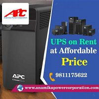 UPS rental services offered by APC in Delhi, Gurugram. Noida, Contact us- 9811175622