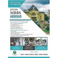 Admissions are open to Study MBBS Abroad.