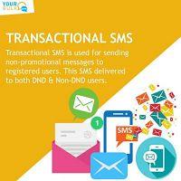 Transactional Bulk SMS Service Provider