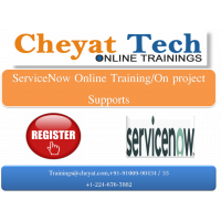 servicenow online training - cheyat tech