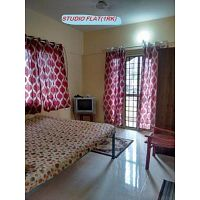 Furnished 1 room kitchen no brokerage 10000 p.m.Manyata tech park