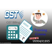 Join GST Training Course Provider Institute in Noida- SLA Consultants Noida