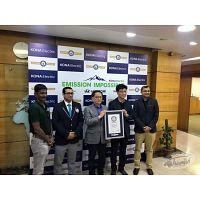 World Record - Driving Electric Car - Highest Altitude - Hyundai Kona SUV
