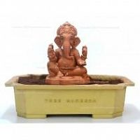 Eco friendly ganesh idol which turns into a plant  - TreeGanesha