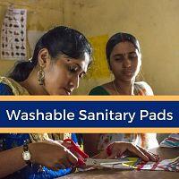 Handmade Washable Sanitary Cloth Pads