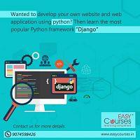 Easy Courses - Online Certification on Django Course